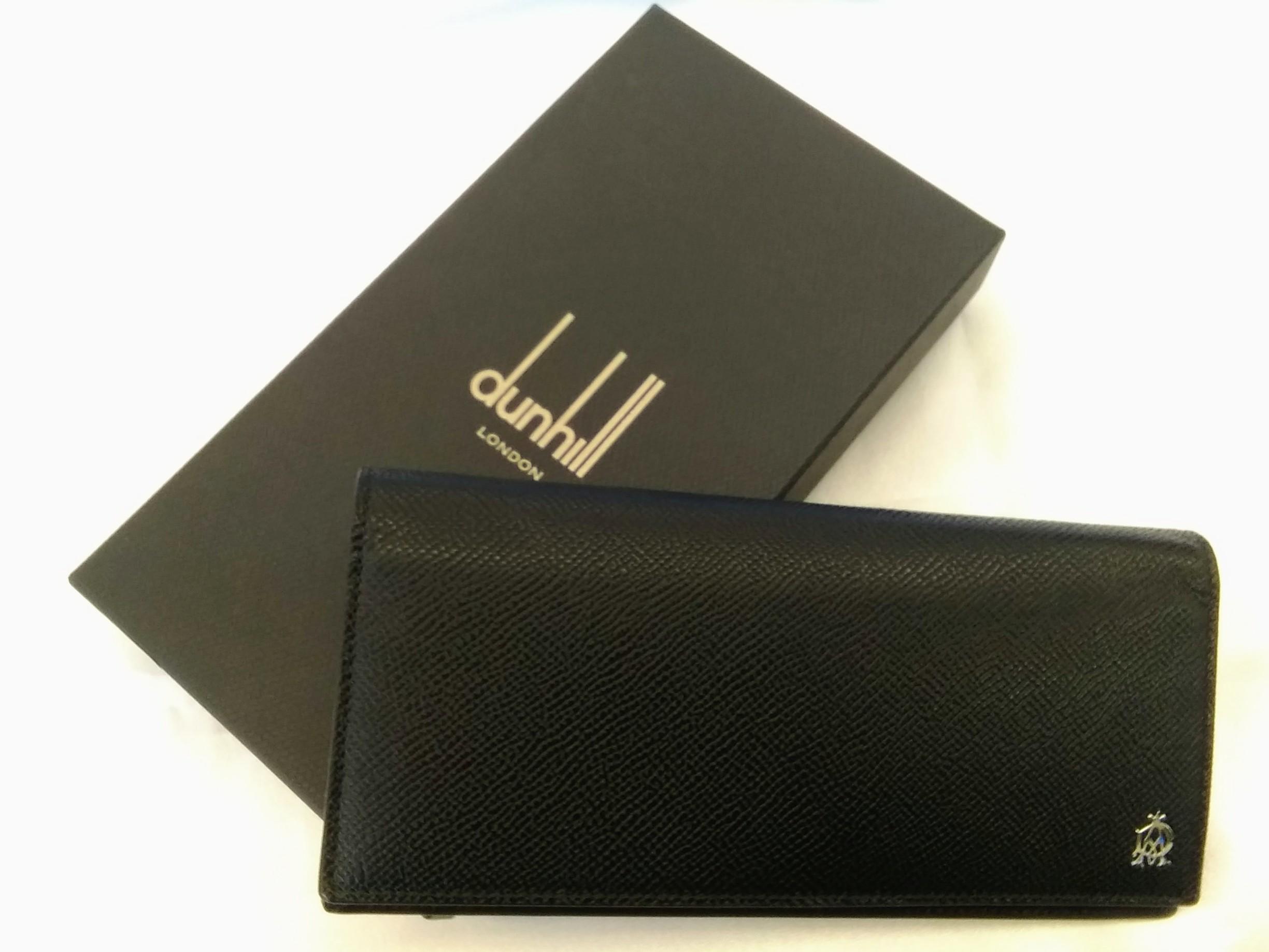 長財布【黒】【ブラック】|DUNHILL【dunhill】【ダンヒル】【メンズ】
