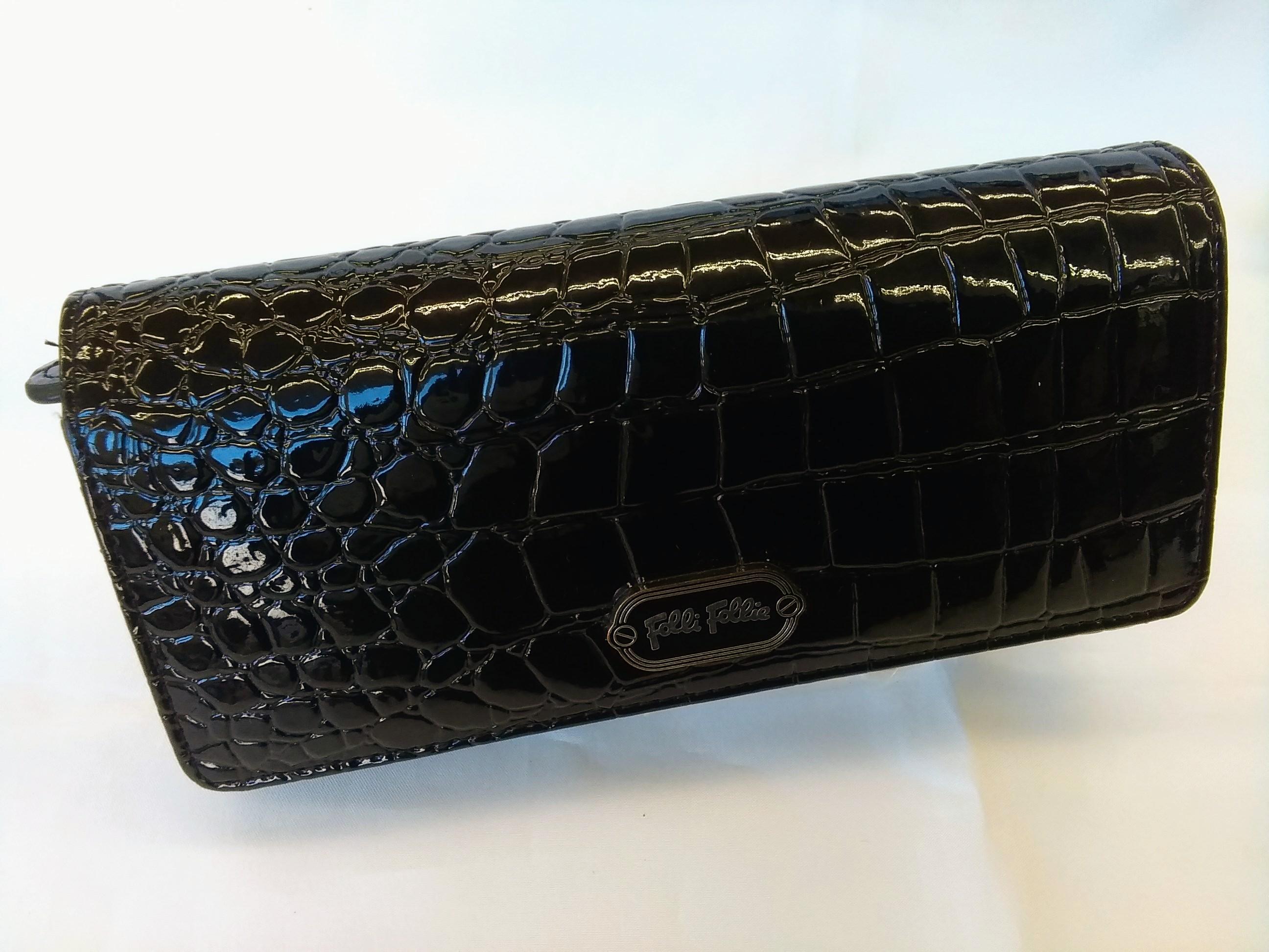 長財布【ブラック】|FOLLIFOLLIE【フォリフォリ】【箱なし】