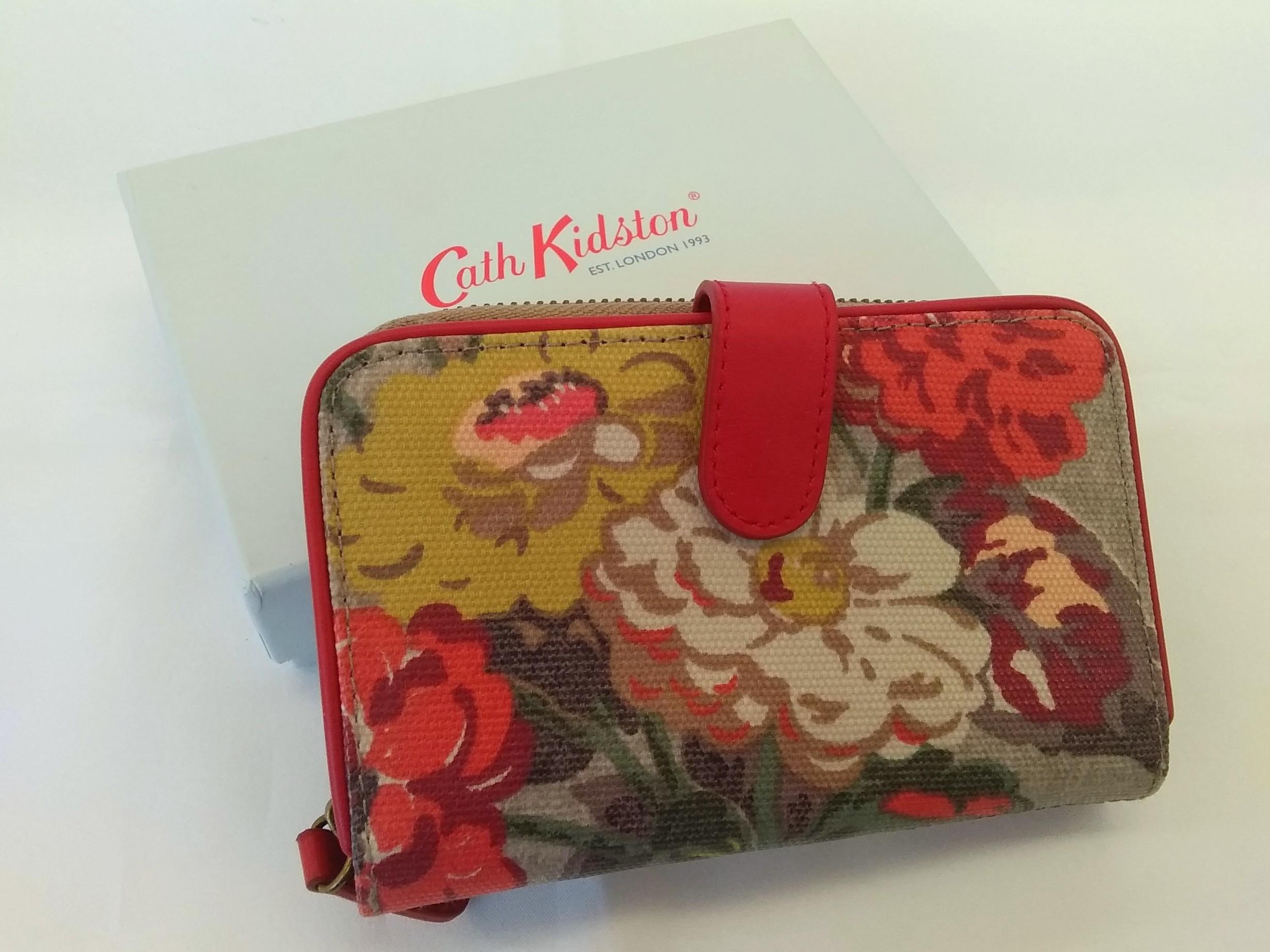二つ折り財布【花柄】|CATH KIDSTON【キャスキッドソン】【箱付き】