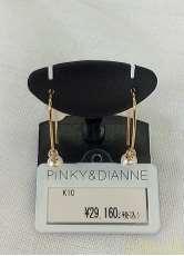 K10ピアス|PINKY&DIANNE