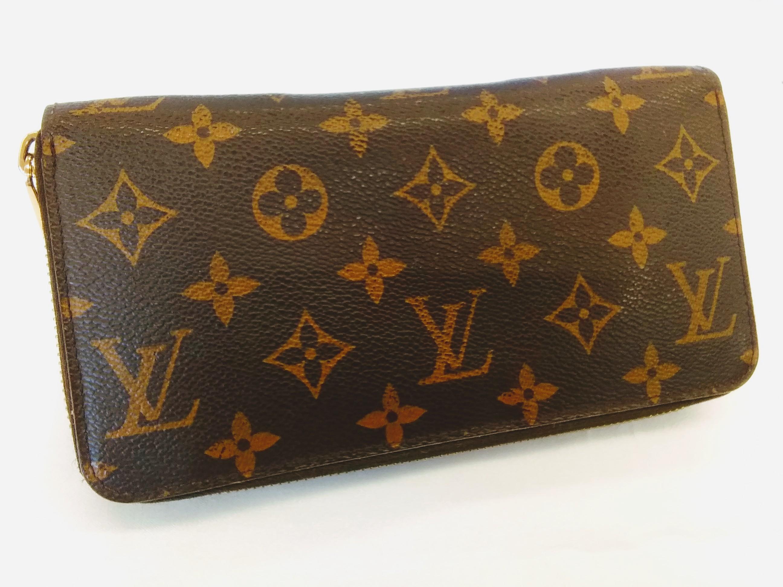 ラウンドファスナー財布|LOUIS VUITTON【ルイヴィトン】【箱なし】