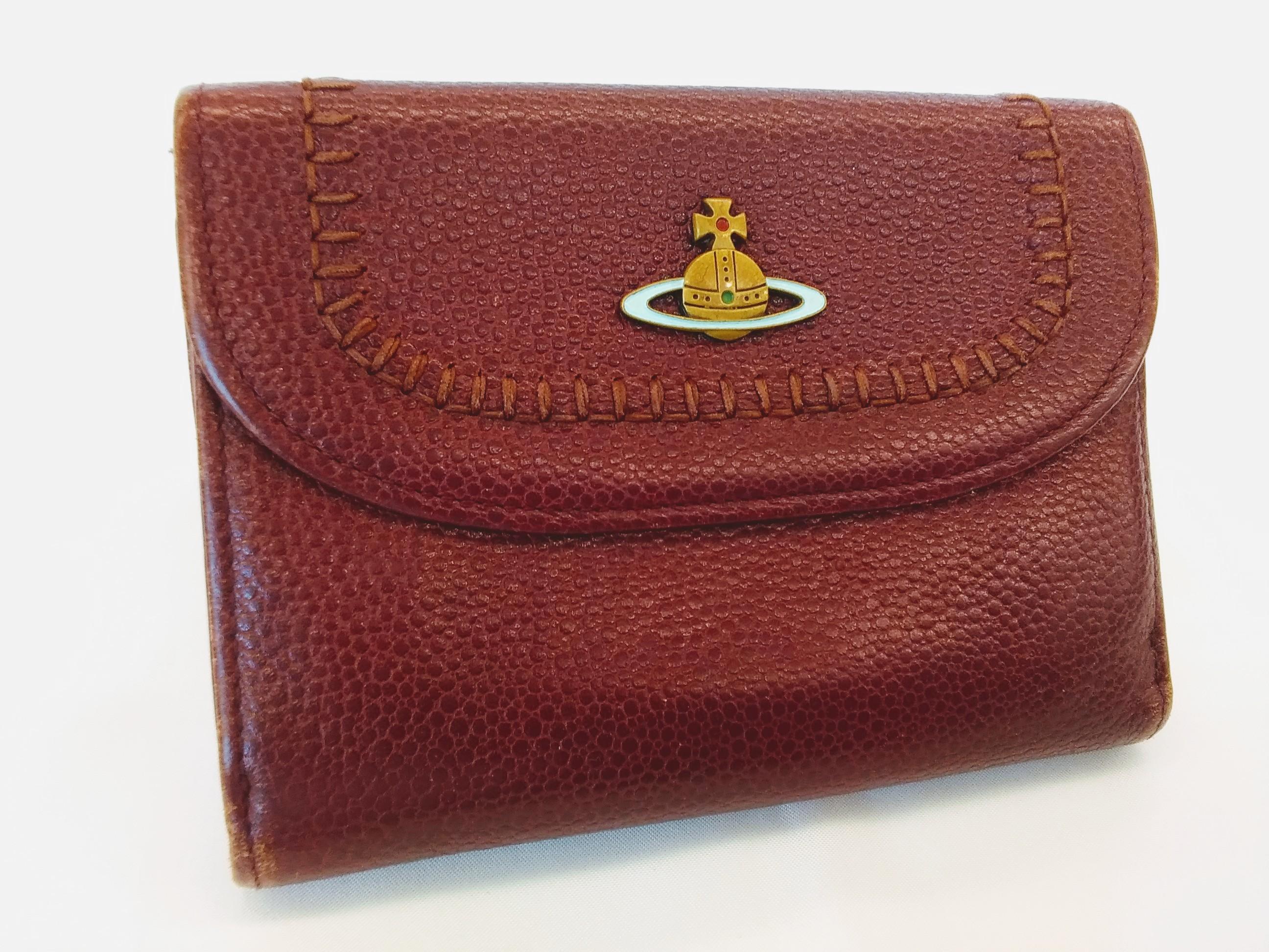 二つ折り財布【ワインレッド】|VIVIENNEWESTWOOD【ヴィヴィアン】