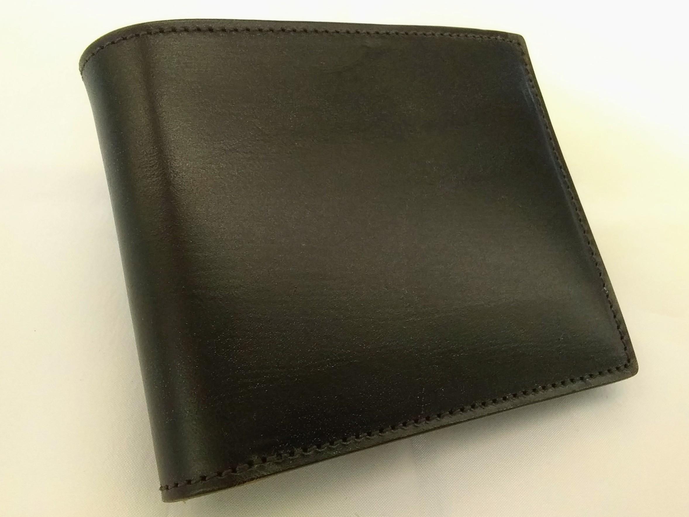 二つ折り財布【ブラウン】【メンズ】|PORTER【ポーター】【箱なし】