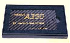 日本航空 A350 就航初便記念バゲージタグ|帝人