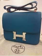 高級レザーショルダーバッグ|HERMES