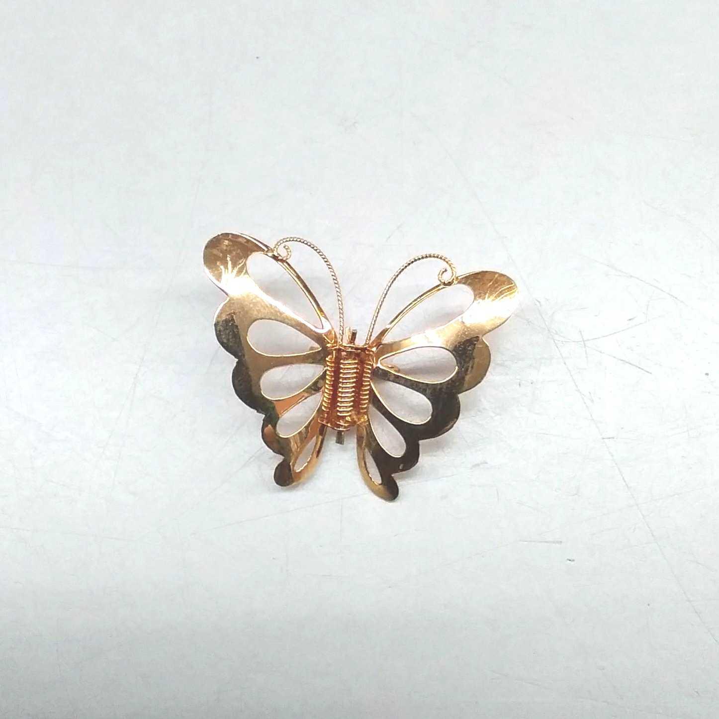 蝶のブローチ|18金