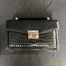 鰐皮セカンドバッグ|JRA