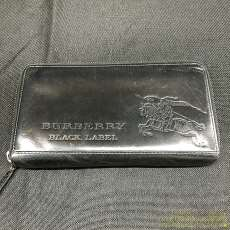 ラウンドジップレザー長財布|BURBERRY