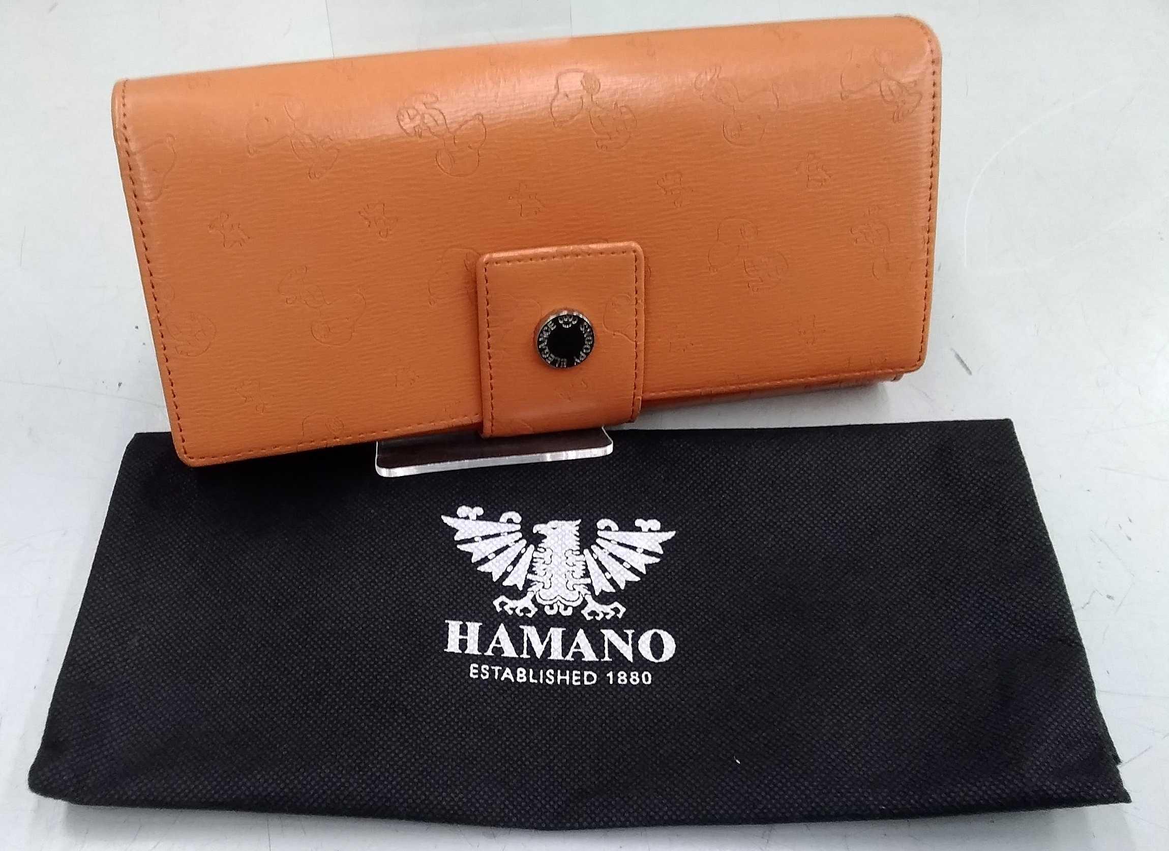 長財布|HAMANO