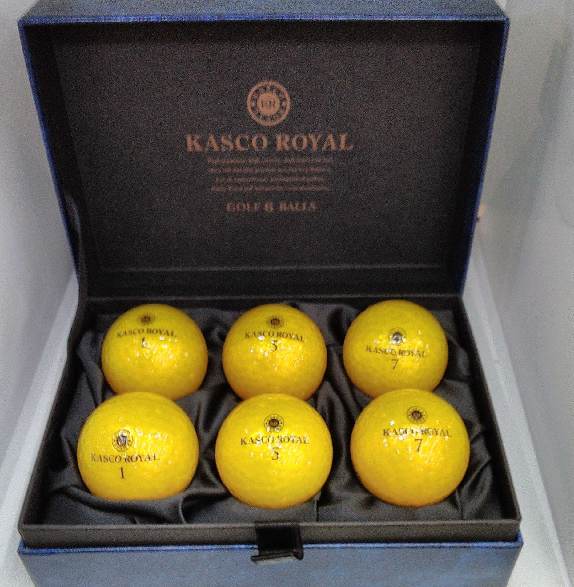 ゴルフボール 6個入り|KASCO ROYAL