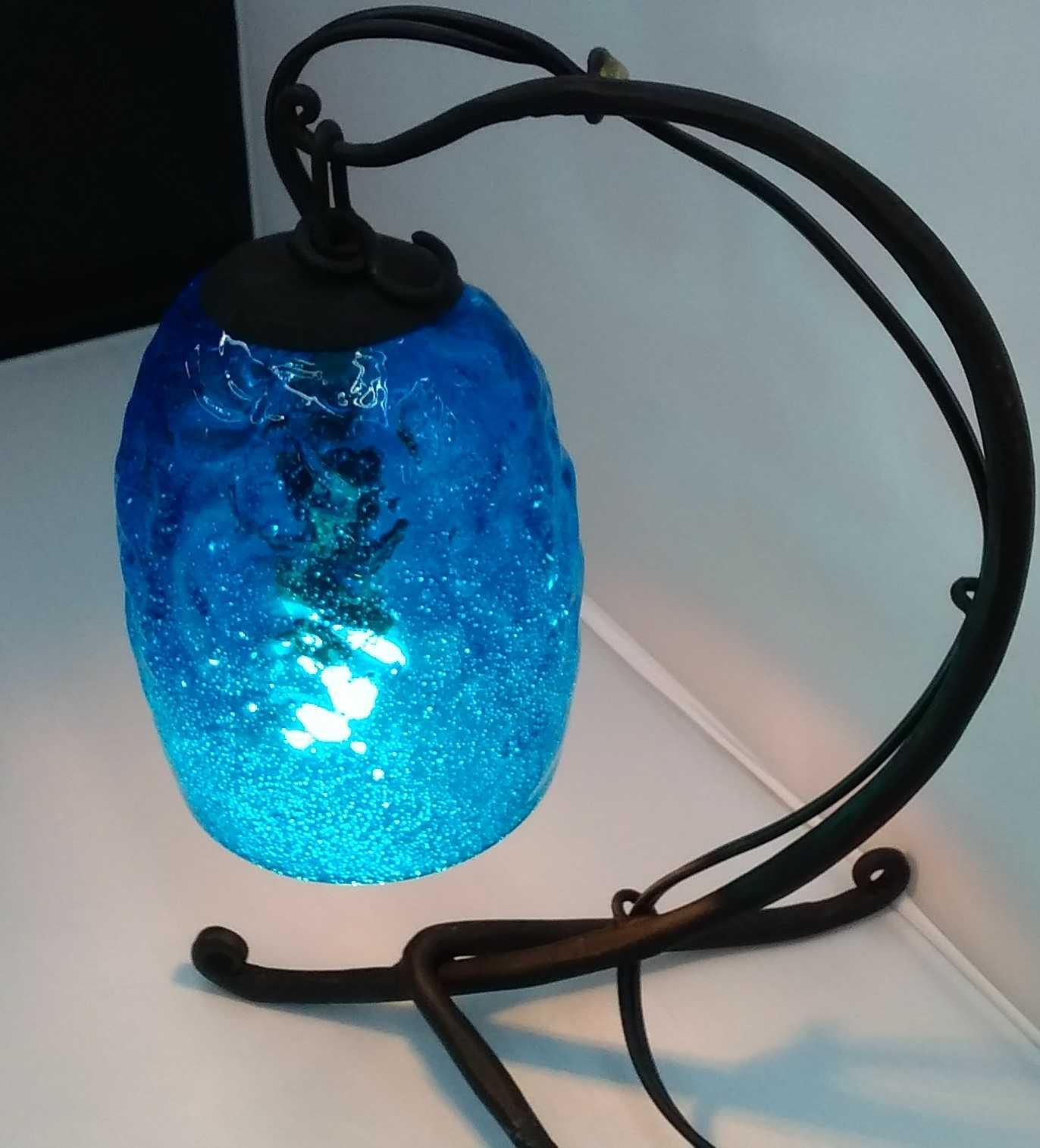 電気ランプスタンド|森のガラス館