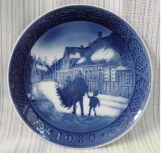 飾り皿 イヤープレート 1980|Royal Copenhagen