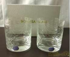 ロックグラス ペア|BOHEMIA GLASS