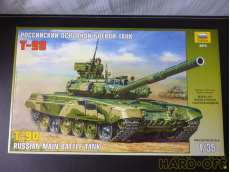 T-90 RUSSIAN MAIN BUTTLE TANK|ZVEZDA