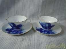 ティー碗皿ペアー|大倉陶園