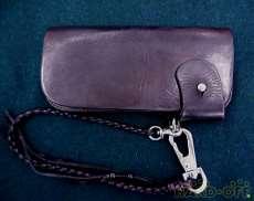 長財布|レッドムーン