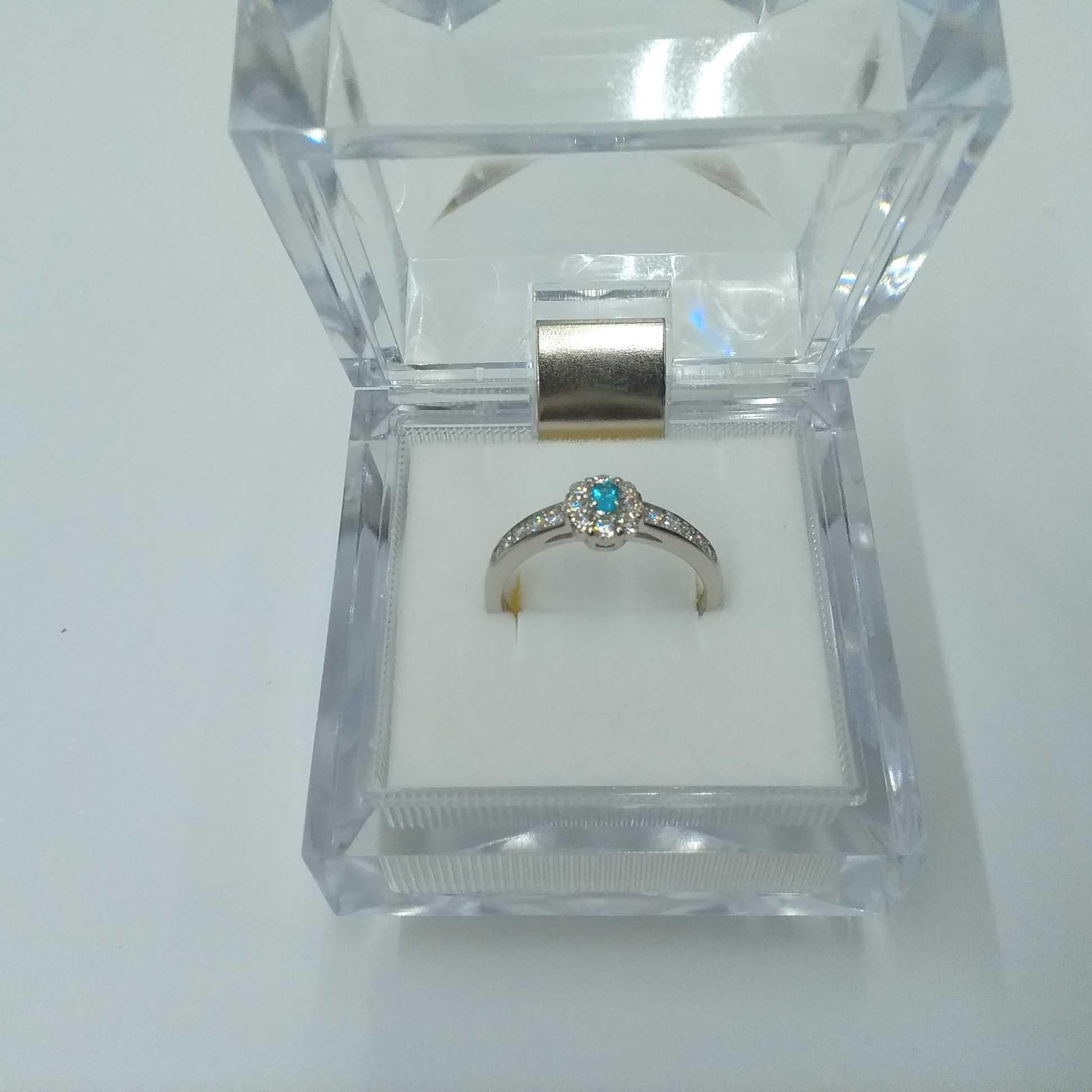 PT900パライバトルマリンリング|宝石付きリング