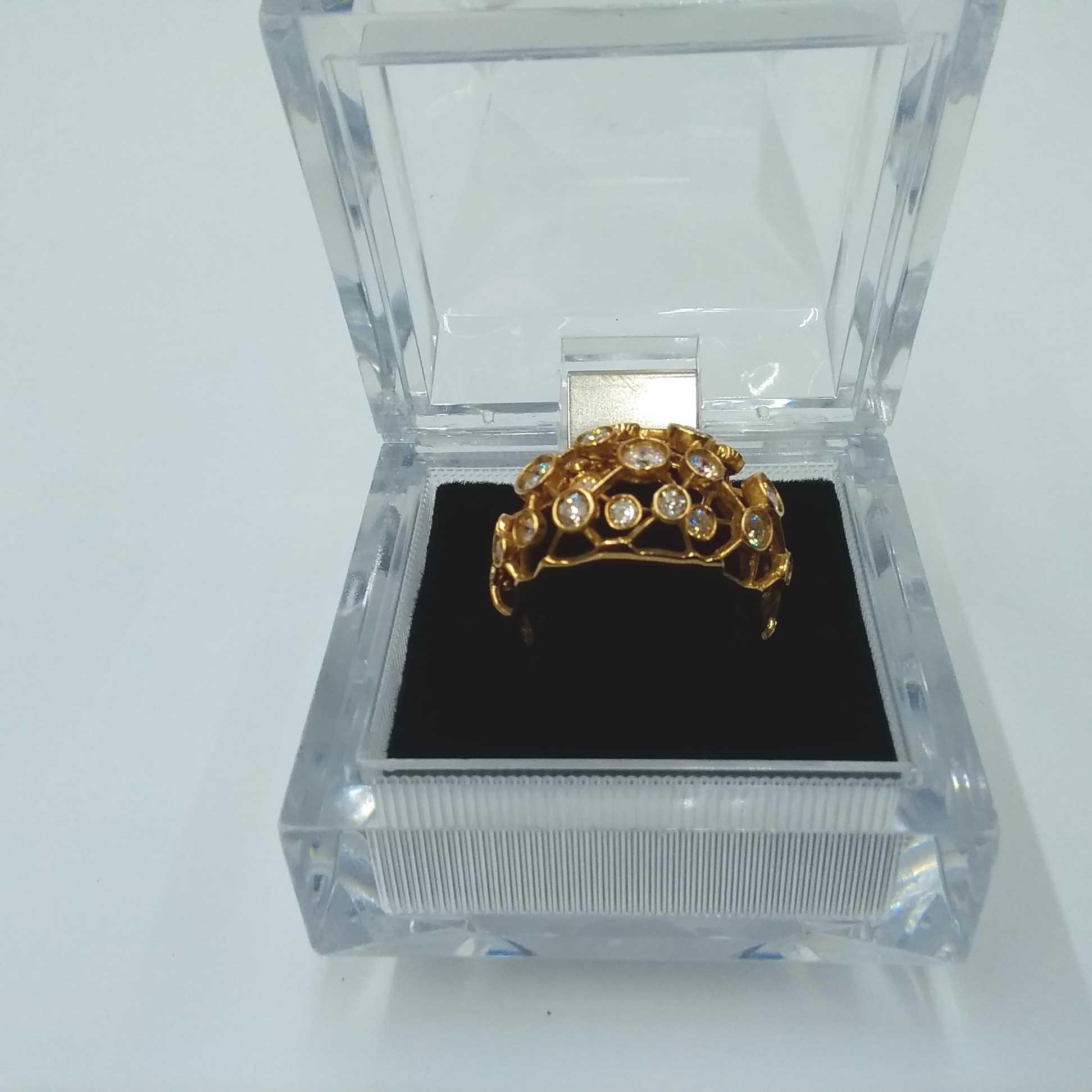K18ダイヤモンドリング #12|宝石付きリング