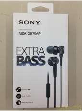 未使用品 イヤホン MDR-XB75AP|SONY