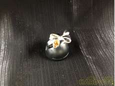 Pt850リボン石付きリング  計5.4g 10号 0.20刻印あり|宝石付きリング