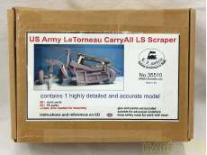 US Army Le Tomeau Carry All LS Scraper|E.Z.MODELS