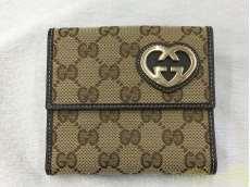 二つ折り財布 Wホック|GUCCI