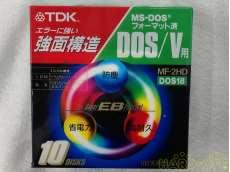 未使用 フロッピーディスク DOS/V用 2HD 3.5型FD 10枚入 TDK