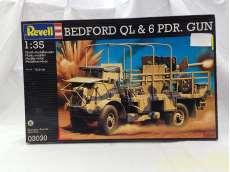 戦車  BEDFORD QL &6 POR GUN|REVELL