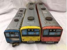 ブリキの電車 3両セット|