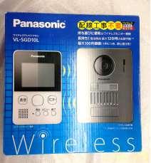 未使用 パナソニック ワイヤレスモニター付テレビドアホン VL-SGD10L|PANASONIC