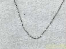 ネックレス 金 K18 WG|貴金属