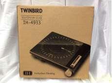 未使用 TWINBIRD コンパクトIHコンロ ブラック IH-4933|TWINBIRD