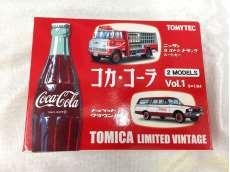 1/64 コカ・コーラ 2MODELS Vol.1 「トミカリミテッドヴィンテージ」|TOMYTEC