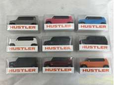 スズキ ハスラー ミニカー プルバック 9種セット SUZUKI