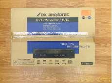 (開封のみ未使用品) 地上デジタルチューナー内蔵ビデオ一体型DVDレコーダー|DXアンテナ