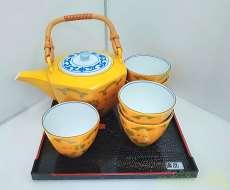 黄交跡 茶器|たち吉