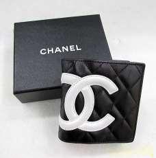 CHANEL シャネル 二つ折り財布 カンボンライン|CHANEL