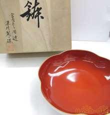 梅型 6号 鉢 紅寿|深川製磁