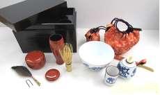 茶道具セット 茶箱入り -