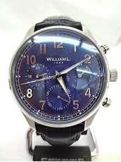 クォーツ・アナログ腕時計|WILLIAM L.