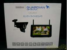 センサーライト付カメラ/モニター|UNIDEN