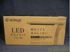 【未使用品】 LEDデスクライト IRIS OHYAMA