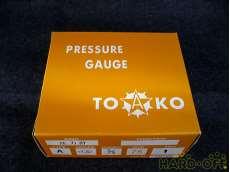 ④ 未使用 一般圧力計A形Φ75 TOKO(東洋計器興業) BT3/8G 75×1|TOKO