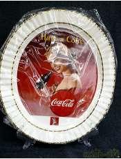 未使用 コカコーラ非売品絵皿 120thアニバーサリー