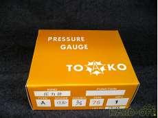 ① 未使用 一般圧力計A形Φ75 TOKO(東洋計器興業) BT3/8G 75×1|TOKO