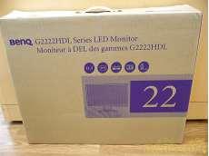 未開封 BenQ 21.5型 LCDワイドモニタ グロッシーブラック