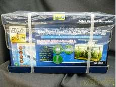 未開封 テトラ クリスタルアクアリウムLEDライト&ヒーター付セット520