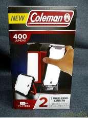未使用 デュオマルチパネルランタン キャンピング LEDランタン