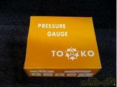 ② 未使用 一般圧力計A形Φ75 TOKO(東洋計器興業) BT3/8G 75×1|TOKO