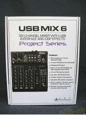 6chミキサー/USBオーディオインターフェース|ART